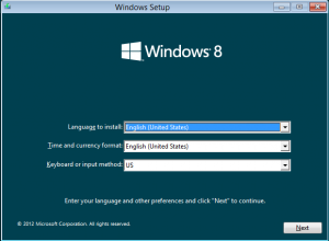 Windows 8 Set